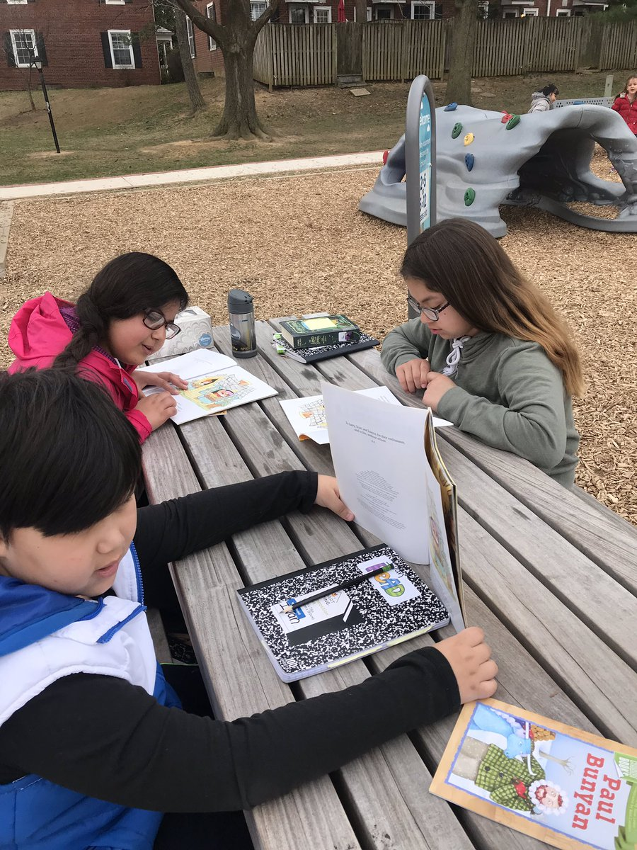 <a target='_blank' href='http://twitter.com/AbingdonGIFT'>@AbingdonGIFT</a> <a target='_blank' href='http://twitter.com/Abingdon5th'>@Abingdon5th</a> Ss enjoying a good fantasy book outside on this beautiful Friday!<a target='_blank' href='http://twitter.com/APSVirginia'>@APSVirginia</a> <a target='_blank' href='http://search.twitter.com/search?q=abdrocks'><a target='_blank' href='https://twitter.com/hashtag/abdrocks?src=hash'>#abdrocks</a></a> <a target='_blank' href='https://t.co/d5rawqUtm6'>https://t.co/d5rawqUtm6</a>