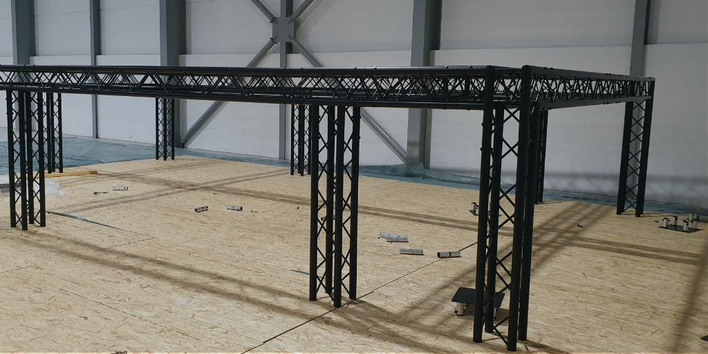 Image for We've taken delivery of our @TriliteTrussing frame and started work on The Studio… Exciting times! There will be more updates to come soon, in the meantime you can plan in some time to meet the Hutchison Technologies Team at #Elevate19 https://t.co/HO7bbN