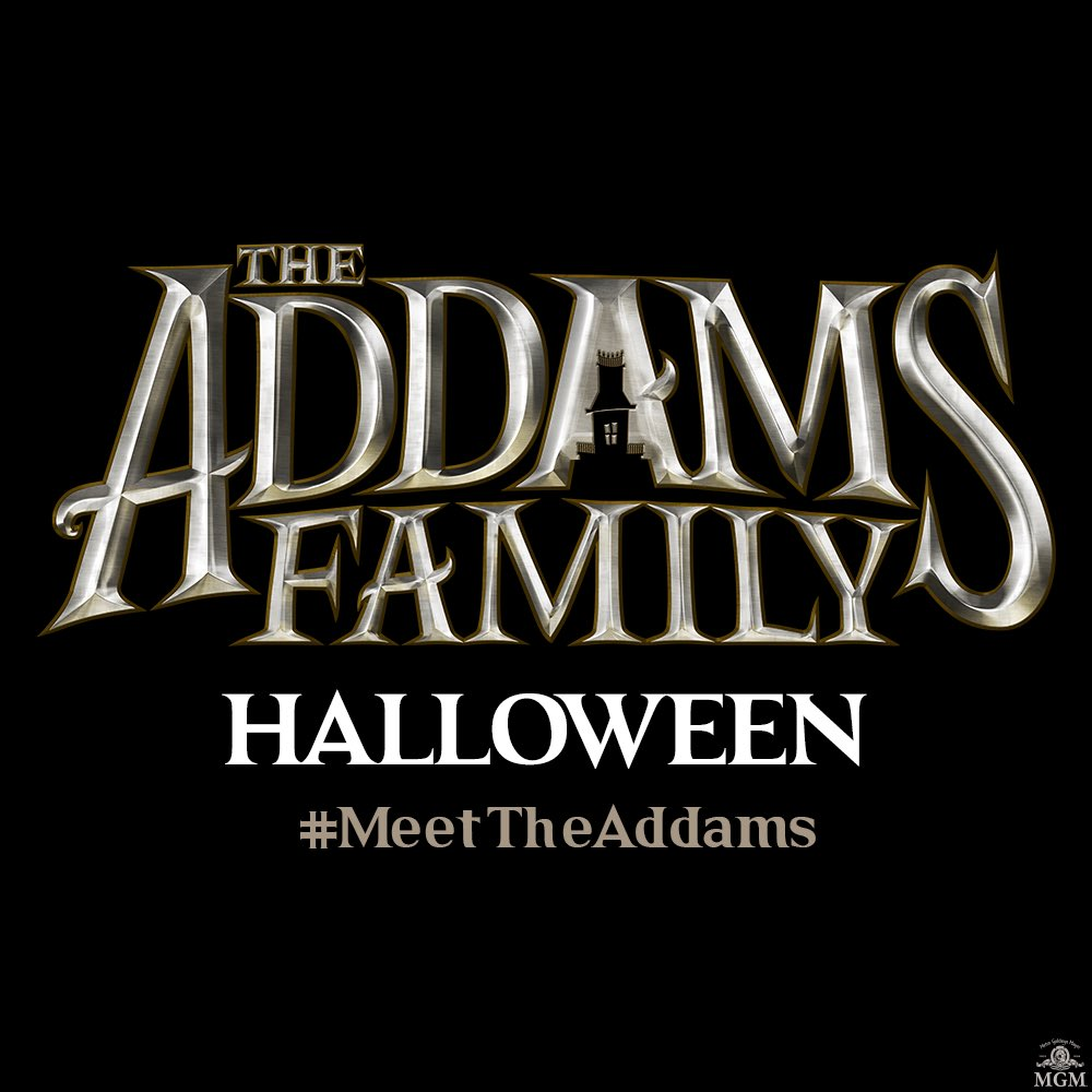 adam family trailer halloween animated