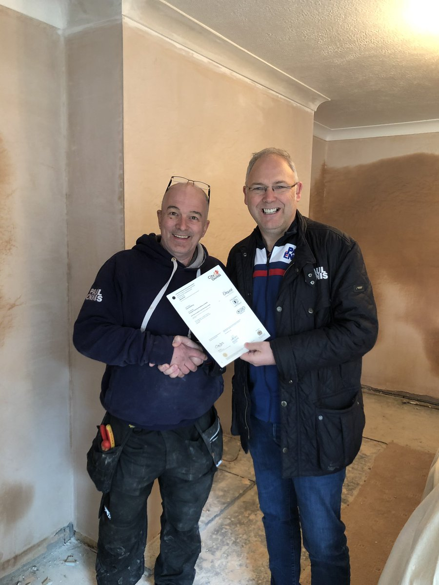 test Twitter Media - Dave Redding- our head of services has been presented with his City & Guilds eighteenth edition electrical certification today.  (Another one for the collection) - Well done Dave! https://t.co/qAobzE4YOo