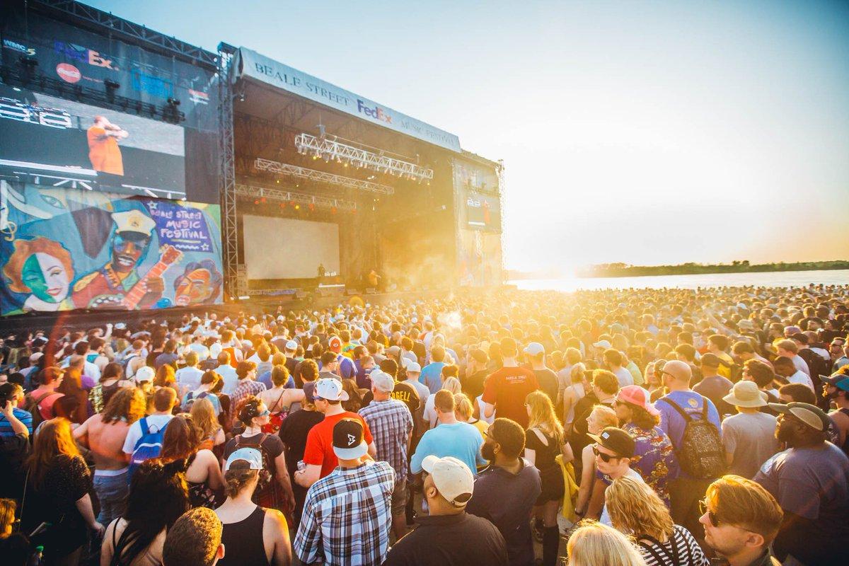Beale Street Music Festival 2020 dates