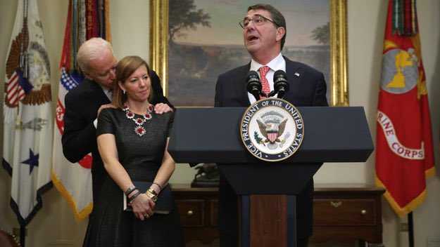 Guys, Biden grabbed and sniffed the hair of the former First Lady with the Former President standing 2 ft. away. This isn't breaking news