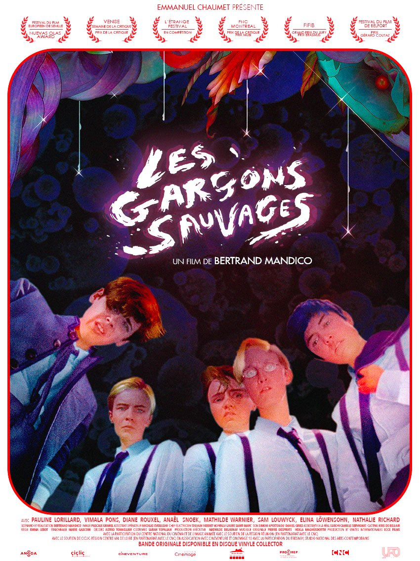 Le #FilmDuSoir  Les garçons sauvages de #BertrandMandico