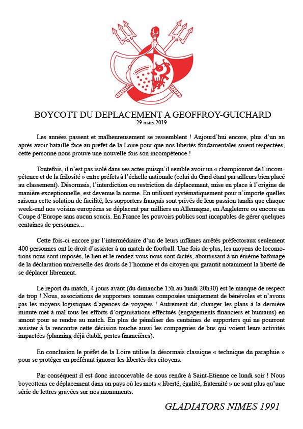 #ASSENO: Boycott des Gladiators 1991