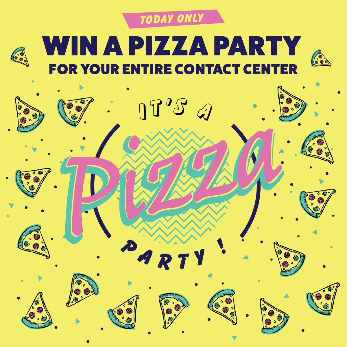 To everyone asking if this is an early April Fools Day prank... NO. We're really giving away a pizza party to an entire contact center team as part of our 10th anniversary.    https:// blog.contactcenterpipeline.com/10th-anniversa ry-pizza-party/  …   #FridayMotivation #FridayFeeling #FridayThoughts #cctr #cx #FreePizzaFriday <br>http://pic.twitter.com/gkewBhXMzO