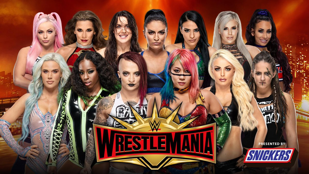 WWE Announces Women's Battle Royal For WrestleMania 35