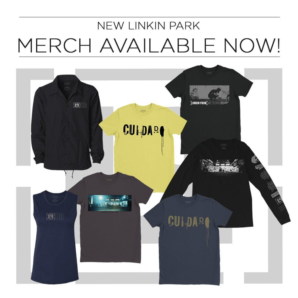 d9e090ff ... merch inspired by the album available now in the official Linkin Park  store for a limited time Shop Now: http://lprk.co/store  pic.twitter.com/g6lSlCM3Gt