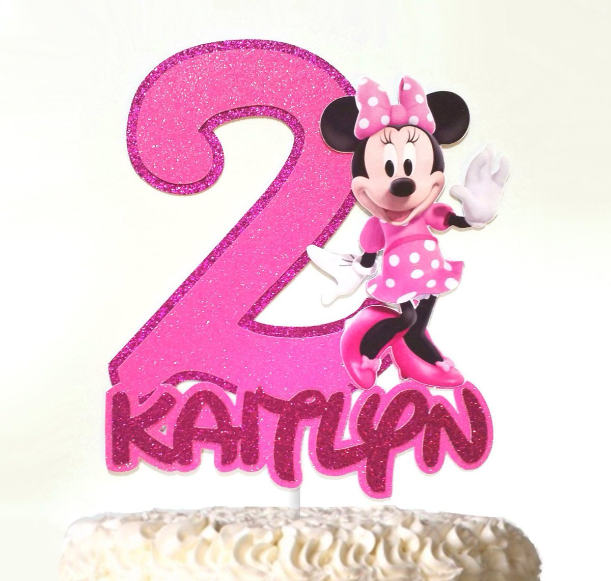 Fine Jessica Truelove On Twitter Minnie Mouse Inspired Cake Topper Funny Birthday Cards Online Fluifree Goldxyz