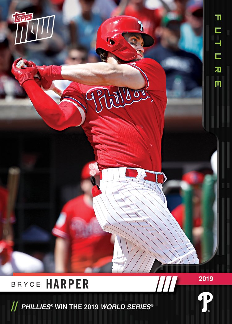 Bryce Harper On Twitter Topps Now Future Baseball Cards Allows