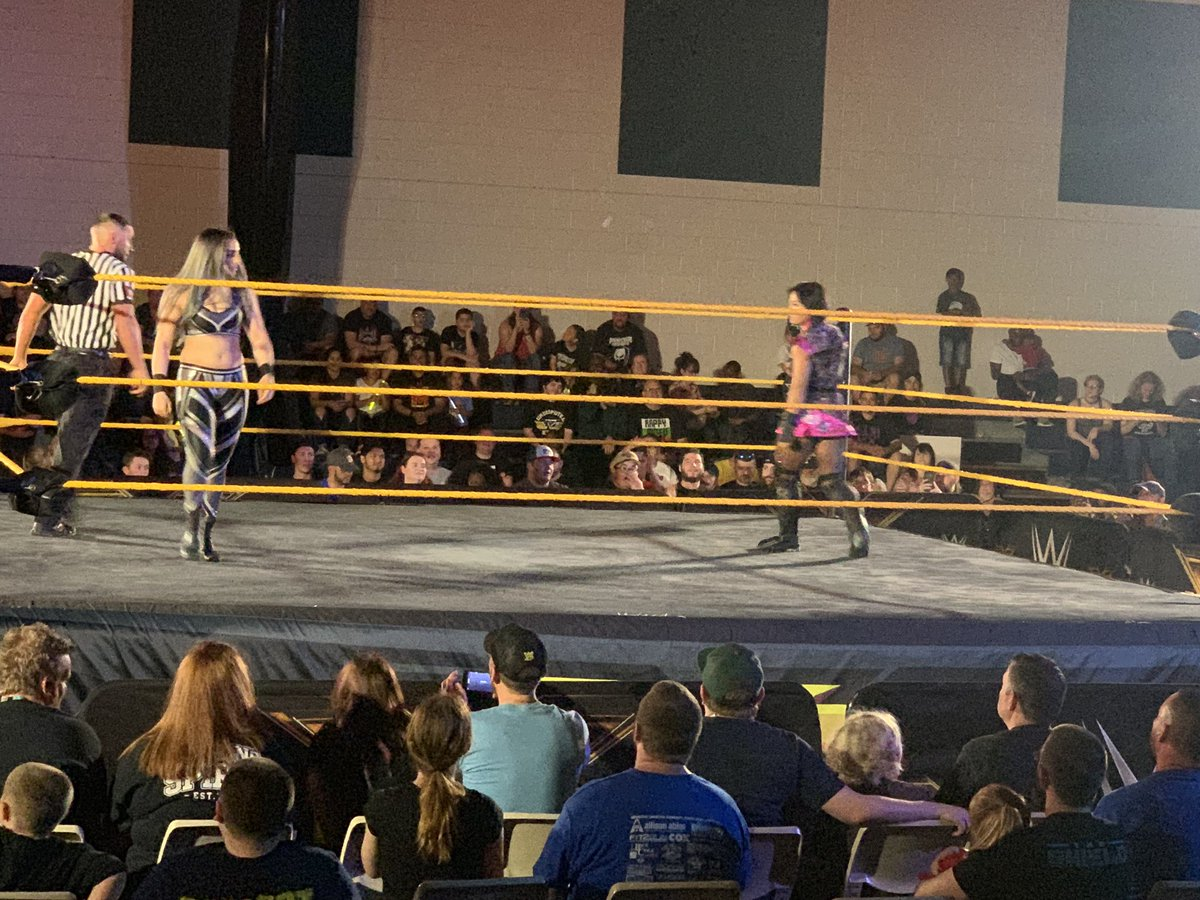 WWE NXT Live Event Results From Gainesville (3/29): Fatal 4 Way Main Event, NXT UK Superstars, More