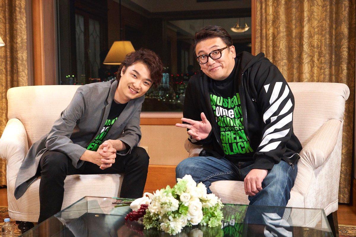 【今夜!初回放送】 今夜も豪華ミュージカルナンバー揃い踏み そして 福田雄一 監督と 井上芳雄 さん