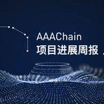 Image for the Tweet beginning: AAAChain project progress biweekly briefing