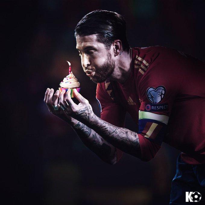 Happy Birthday, Sergio Ramos!