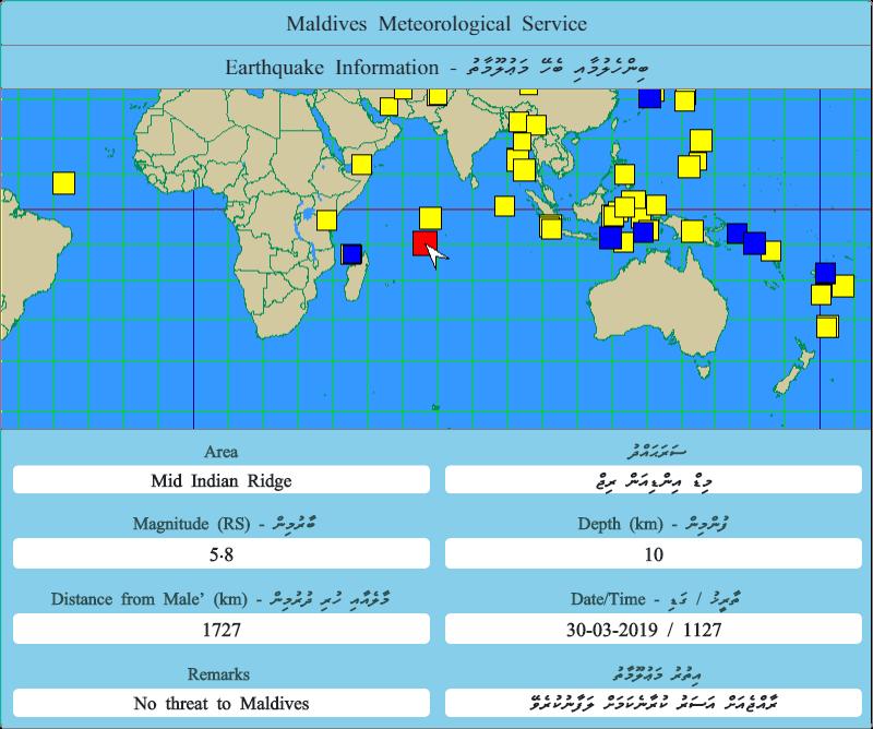 Maldives Meteorology On Twitter