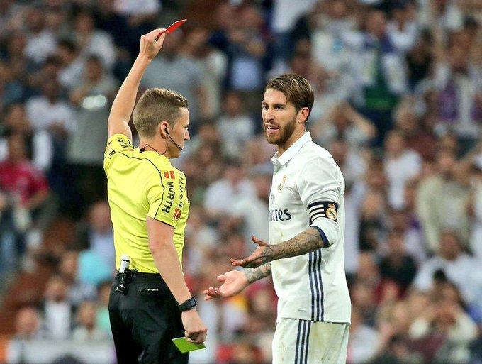 Happy Birthday to Sergio Ramos - the man who loves a card