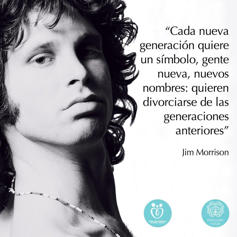 Psicologos Y Salud En Twitter Biografía De Jim Morrison