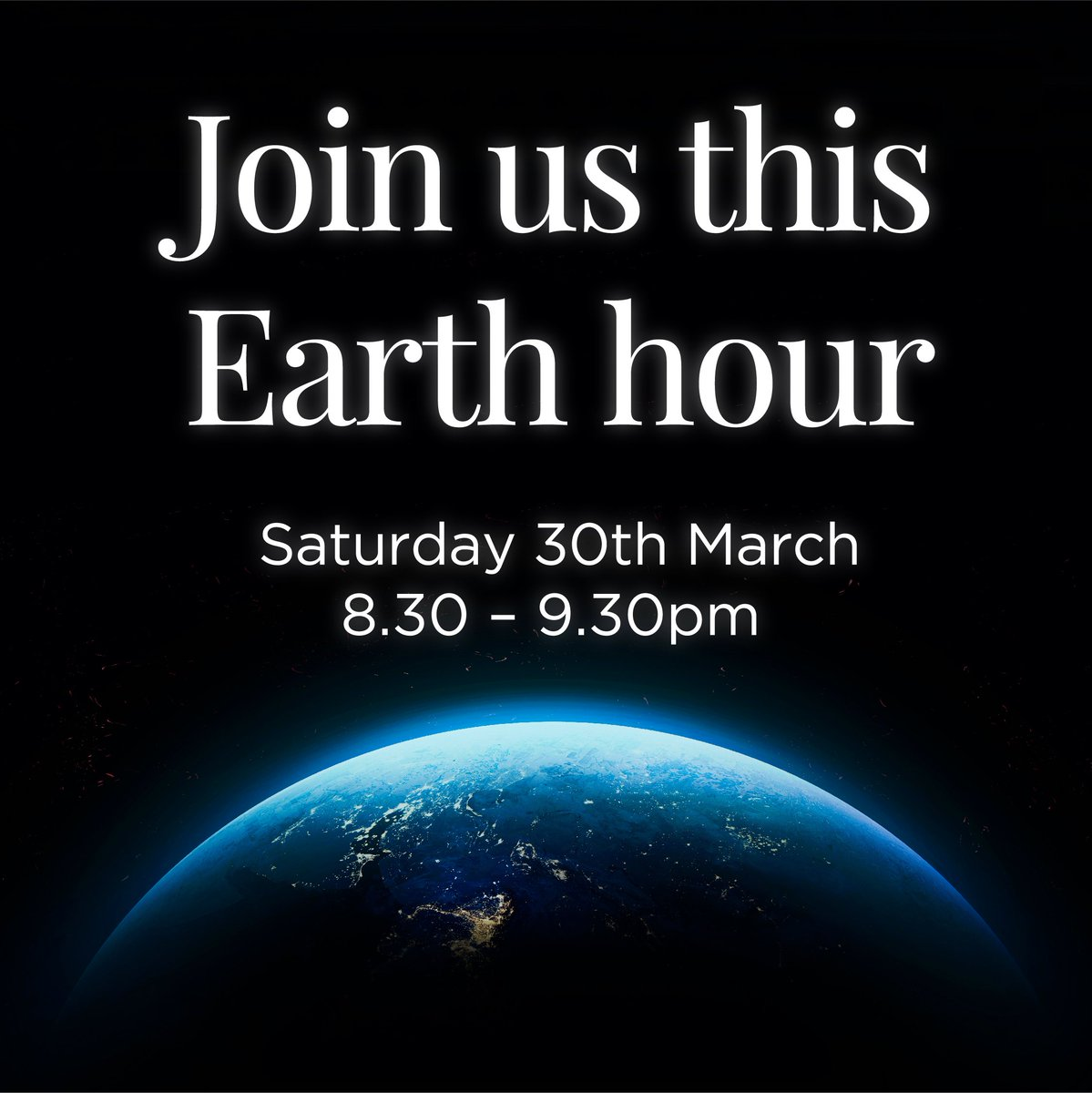 Rushden Lakes On Twitter Its Almost Earthhour To