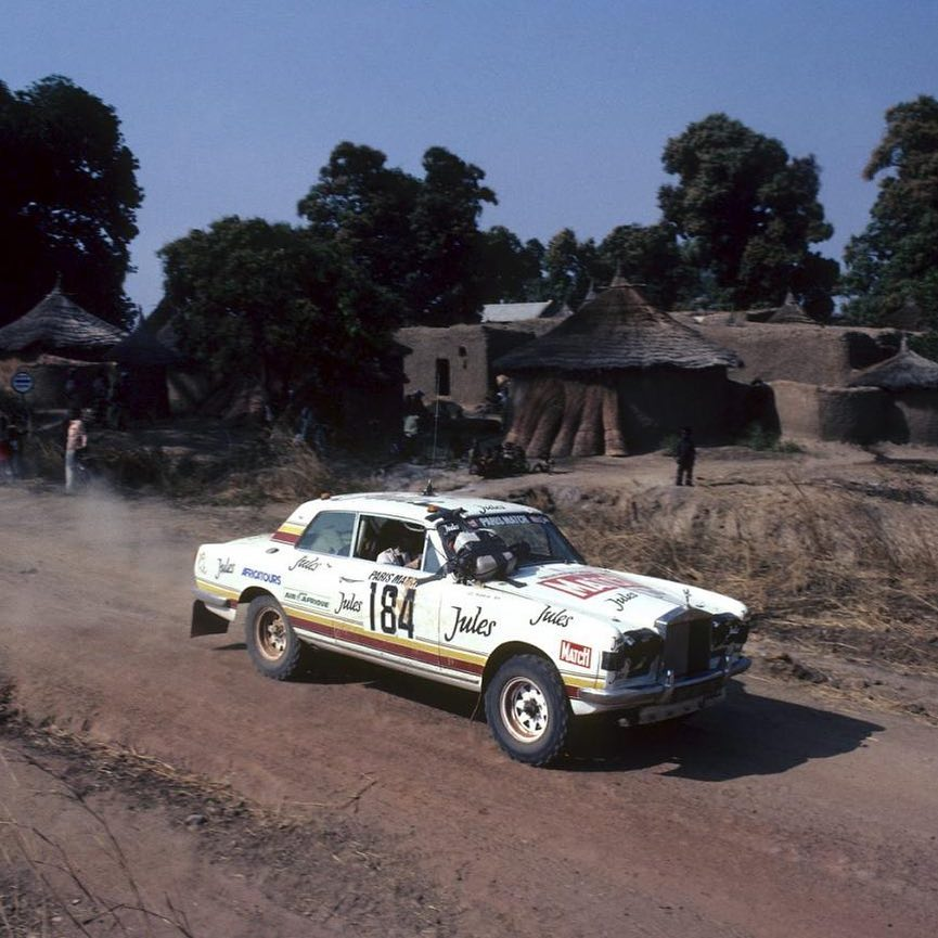 Thierry De Montcorgé and Jean-Christophe Pelletier Rolls Royce Corniche Coupé 'Jules' Dakar Rally, 1981 . . . #thierrydemontcorge #jeanchristophepelletier #rollsroyce #rollsroycecorniche #jules #dakar #dakarrally #classiccar #rally #vintagecar #sportcar…  http:// dlvr.it/R1r9mZ    <br>http://pic.twitter.com/Kt6z9OydoH