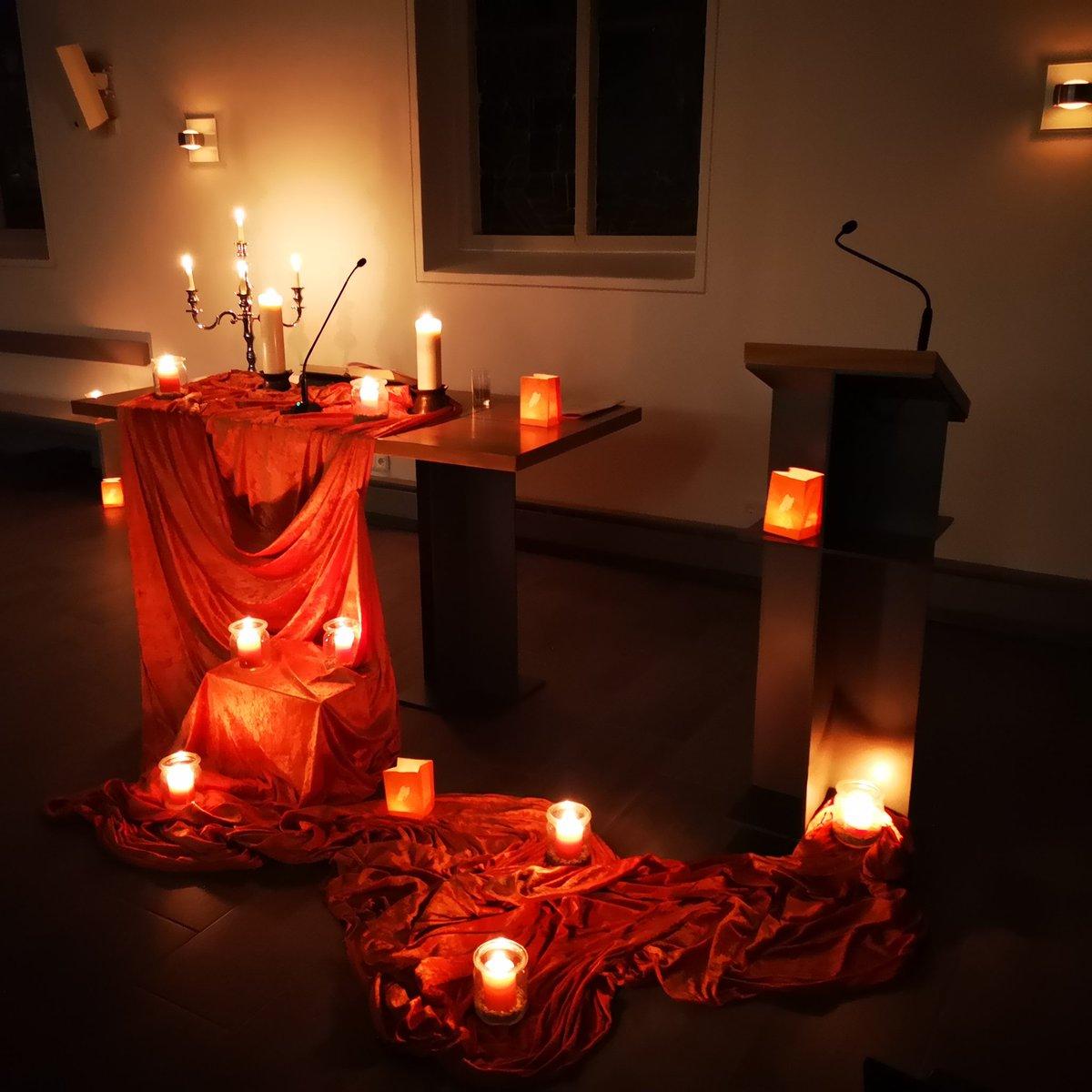 Impression vom #g19 #taize Gottesdienst gestern Abend bei #ekduelken. Die Taizé-Reihe geht damit wohl schon in die Sommerpause, aber am 18.04. (Gründonnerstag) ist ein #g19 #feierabendmahl und am 28.06. ist ein weiterer #g19 geplant (weitere Ideen willkommen...)