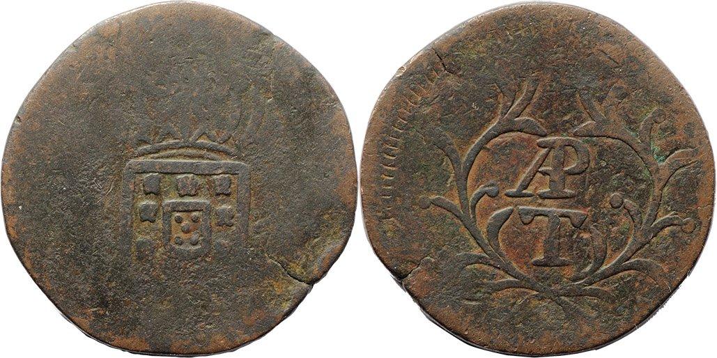 India Portuguesa. 1 tanga de cobre D25y3ObXcAAOKIl