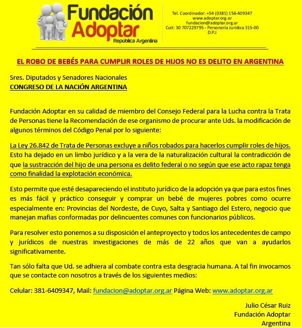 71167e6c7 Quiero enviarles un mensaje frente a una desgracia humana que nos ocurre a  los argentinos. Por favor los que estén dispuestos pueden comunicarse con  ...