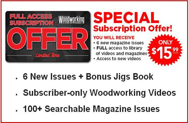 Canadian Woodworking Home Improvement On Twitter Special