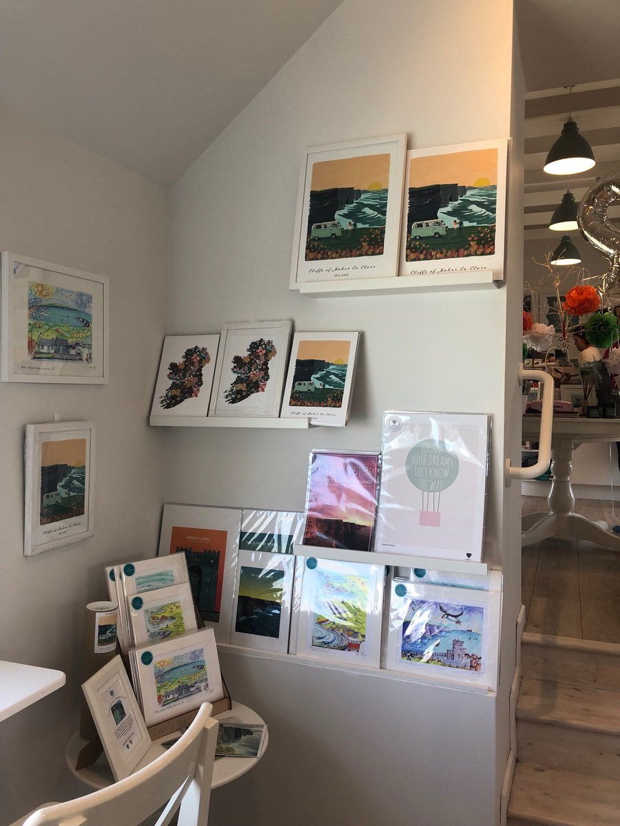 Delighted to have the fabulous new @hairyfruitart prints back in store here @MoherCottage  store.mohercottage.com/search?q=hairy… #bestlittleshop #WildAtlanticWay #cliffsofmoher #moreinstore