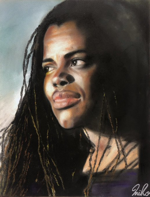 *+.Happy Birthday.+*  Tracy Chapman     F6(410×318mm) 2016 9