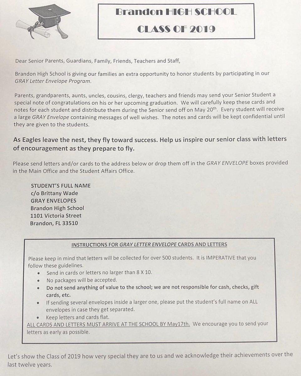 Gray Letter Envelope Program has started!!!