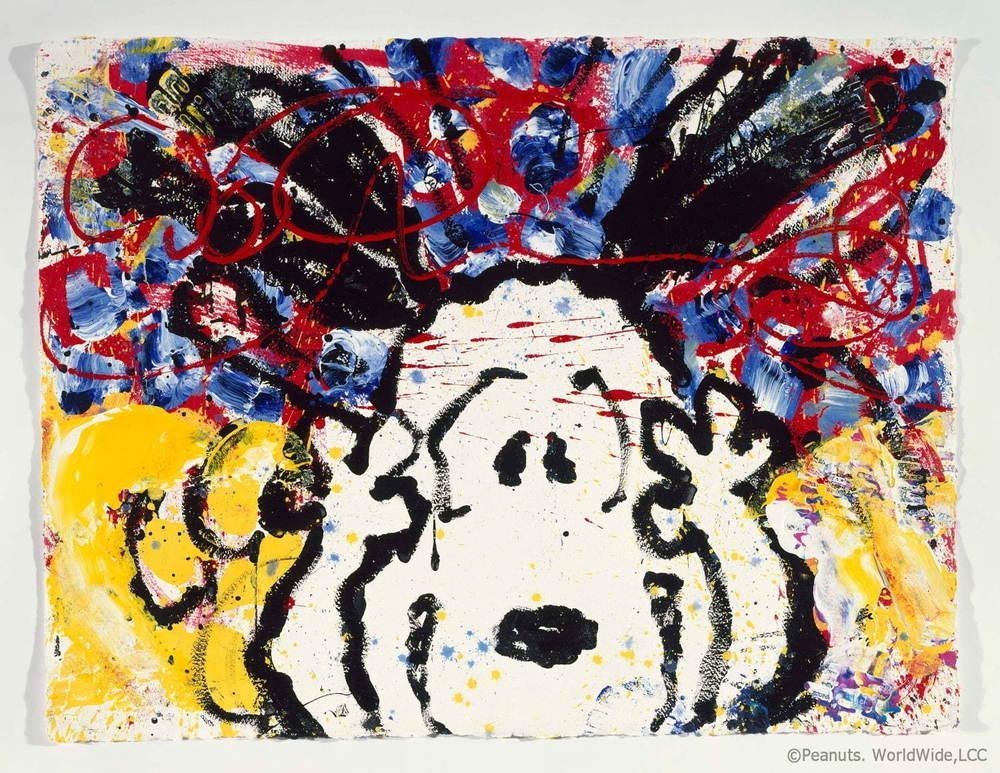 スヌーピーを世界で唯一自由に描ける画家「トム・エバハート」展示販売会が東京・福岡で開催 - https://www.fashion-press.net/news/48490