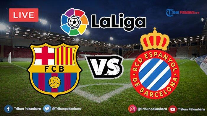 Barcelona vs Espanyol Spain LaLiga Santander Live Stream 🔴 Live now here 👉 « https://fullsports.online/match/live-barcelona-vs-espanyol… »  #Spain #LaLigaSantander #PL #UYL #CopadelRey #Matchday  #ForçaBarça #BetisDay #RealBetisBarça #RealBetis #Messi #TürkiyeFCB