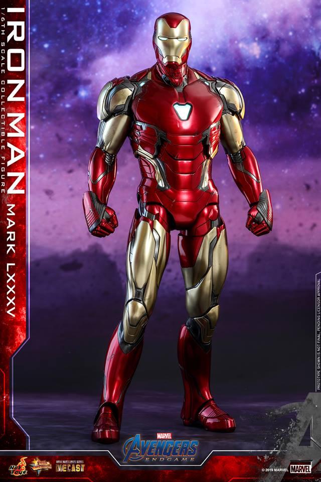 Vingadores: Ultimato | Hot Toys revela figura do Homem de Ferro com armadura do filme