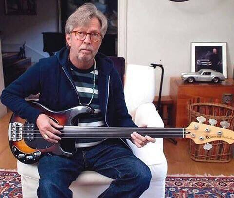 Happy Birthday to the great Eric Clapton