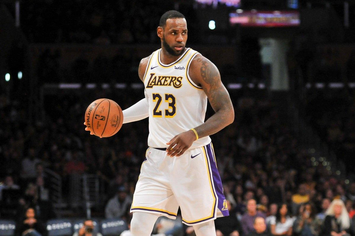 big sale 0beb2 76bf5 the lakers announce that they are shutting lebron james down for the rest of  the season