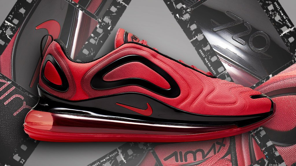 5f5a98689b crimson and black are the latest colors on the new nike air max 720 grab a