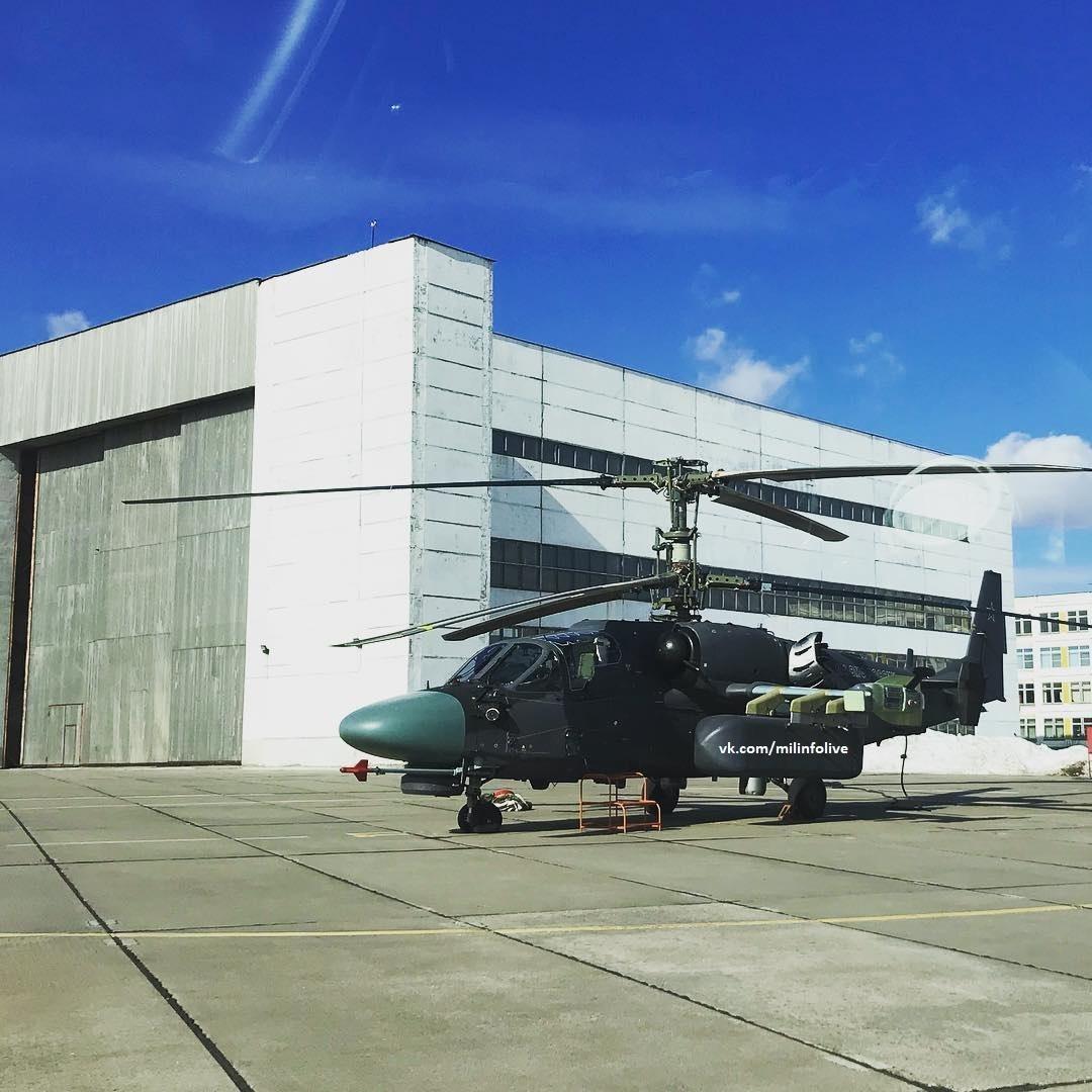 روسيا بنت مروحيه Ka-52K الهجوميه البحريه , لكنها لن تحتاجها !!! D27BJPmWwAEL6Ha