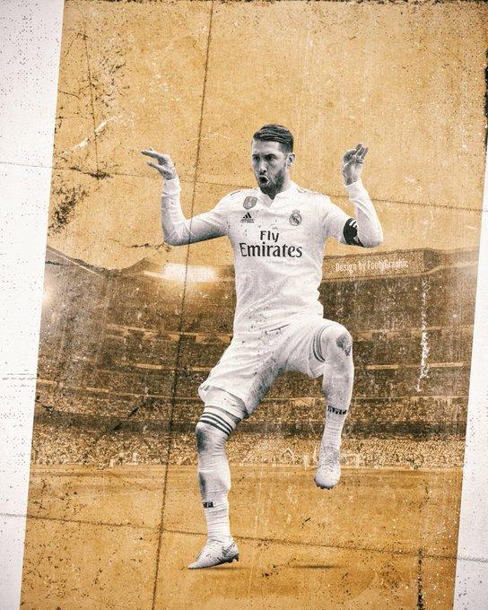 Happy birthday to Sergio Ramos who turned 33 today!
