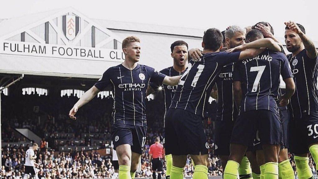 Muy bueno retomar la Premier con triunfo y gol 🤟🏽//Very good to resume the Premier League with a win and a goal. 🤟🏽 C'mon, City 💪🏽