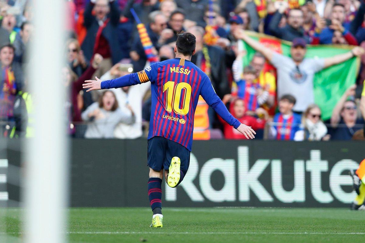#LigaEspañola | Doblete de Messi en el clásico catalán