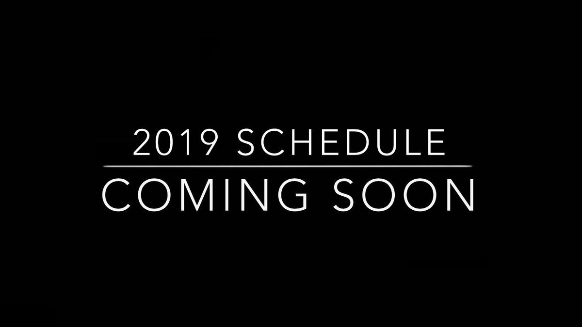 Attention Brave Nation:   After months of anticipation our 2019 Season Schedule is finally complete.  We will release on Monday! #WeCompete <br>http://pic.twitter.com/evcxA85iLv