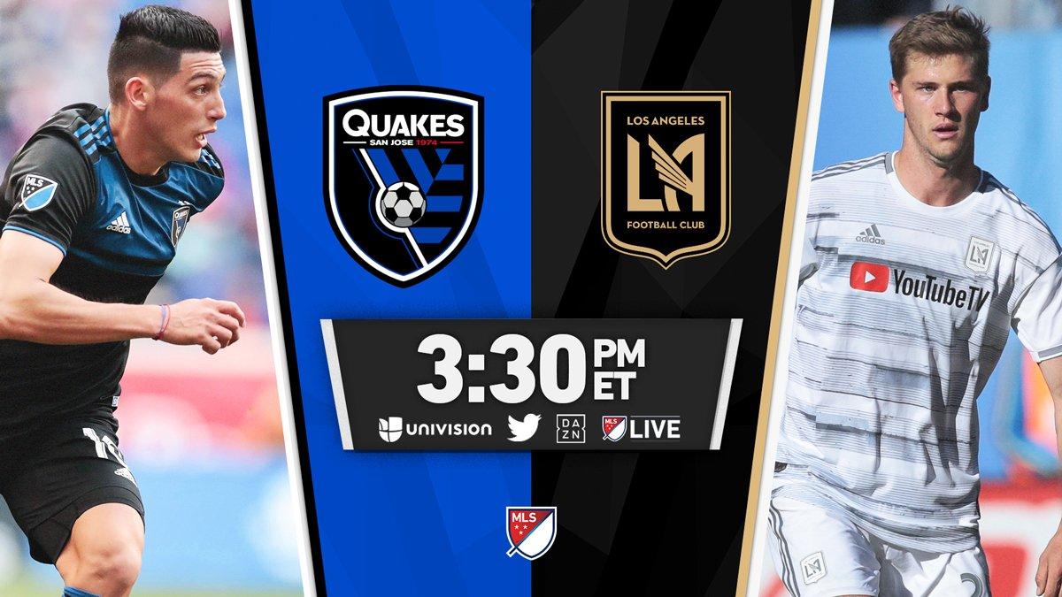 buy popular ab6c8 c3073 Recap  San Jose Earthquakes vs. Los Angeles Football Club 03 30 2019    Matchcenter