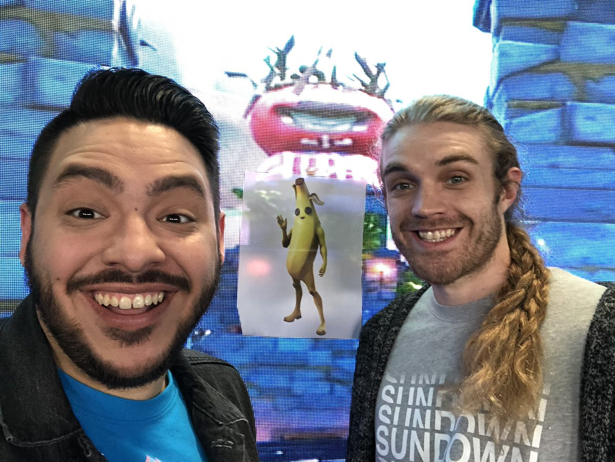 Fortnite World Cup Commentators Zeke On Twitter Luxe Cup Semi Finals Starting Soon We Also Have A Special Guest Joining Us No It S Not Mr Peely Https T Co L3fciugpym Https T Co Ymfnmeimkh