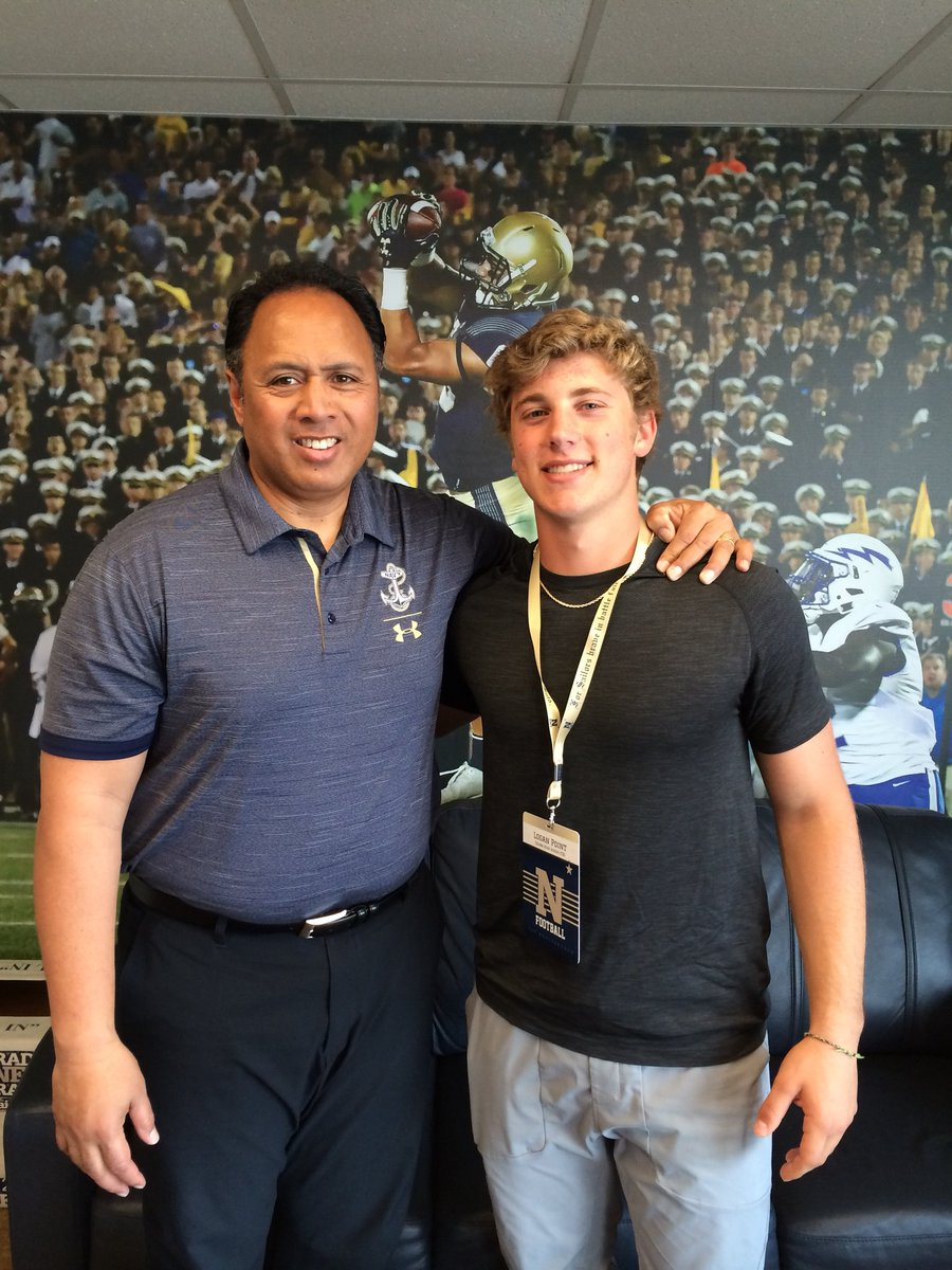 Blessed, honored, and proud to have received an offer from The United States Naval Academy!@NAVYCoachKen                                 @NavyCoachYo