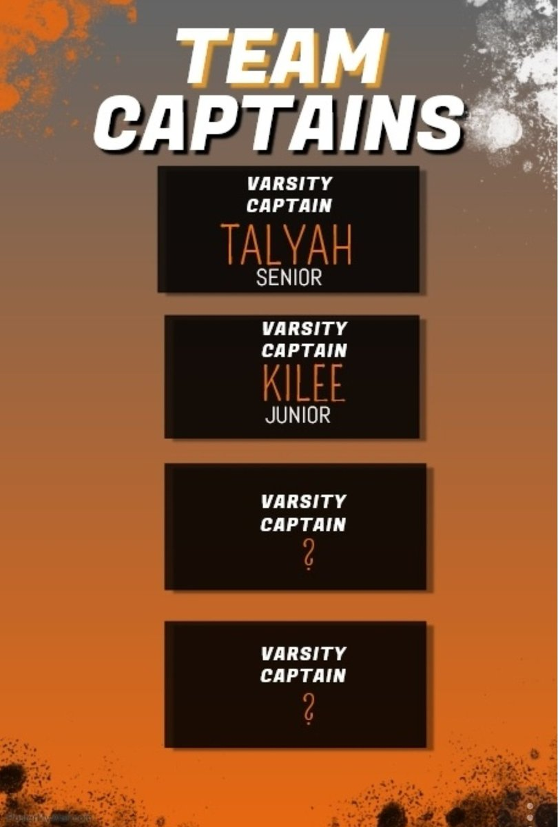 We would like to Congratulate our first two 2019Varsity team CAPTAINS! @talyyahhand01  and @KileeWittwer These two team members are the epitome of what we define our athletes as for the TJ cheerteam-not only in uniform but in the classroom! CONGRATULATIONS LADIES!