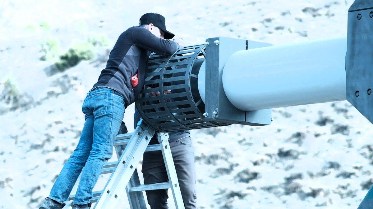مدافع كهرومغناطيسيه تركية جديدة تحل محل الاسلحة النارية التقليدية..تتمتع بقوة دفع تعادل 5 أضعاف سرعة الصوت D27dsB2XgAEJzfR