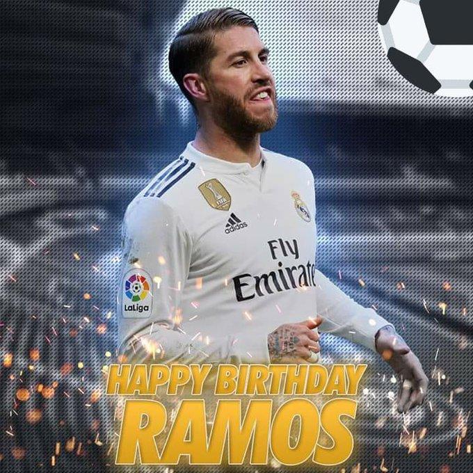 HAPPY BIRTHDAY AMOR DE MIS AMORES. SERGIO RAMOS GARCÍA!!