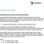 Image for the Tweet beginning: #Fosenbrua #nyhetsbrev #stjørnfjorden #kryssing: