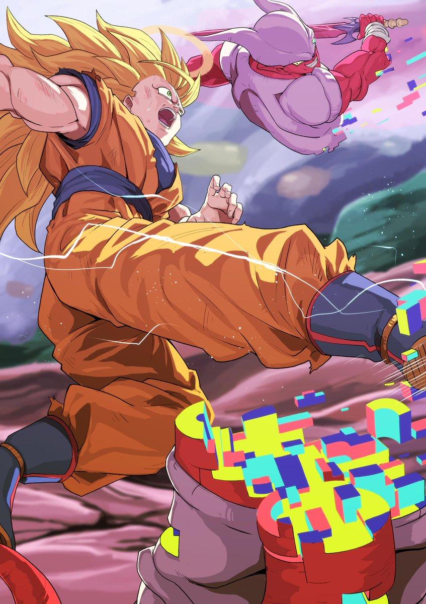 Images découvertes [Fanarts Dragon Ball] - Page 5 D287M_yUwAAzwKd
