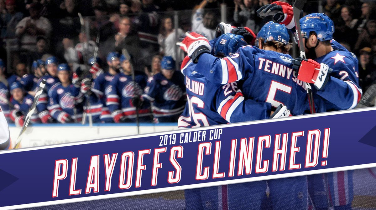 Amerks clinch playoff berth with win over Binghamton