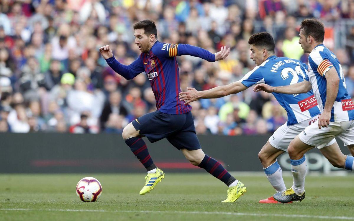 ĐHTB vòng 29 La Liga: Messi che mờ tất cả